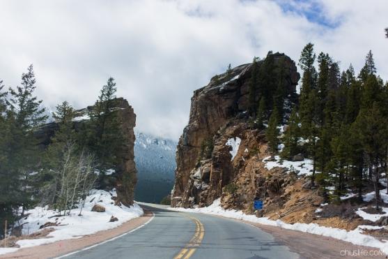 Peak to Peak scenic drive