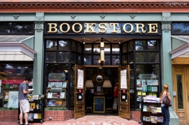 This ginormous three-story bookstore was the highlight of my venture into Boulder