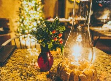 Romantic candelight