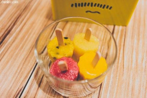 鮮果原汁冰棒 [mini popsicles]