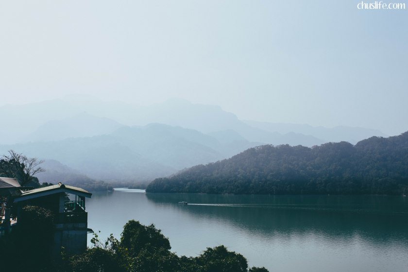 View of Shimen Reservoir from Lakeside Coffee