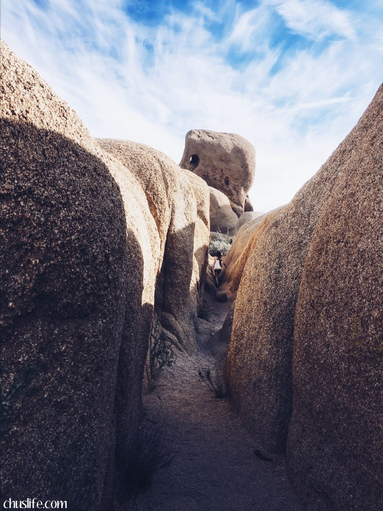 A rock-climber's paradise